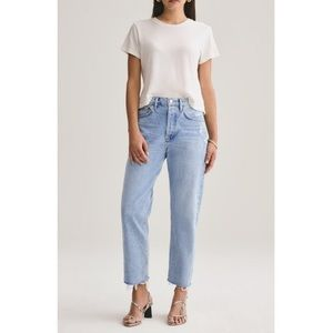 NWT Agolde Parker Easy Straight Jeans (size 32)